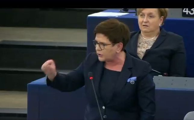 PE. Awantura między Beatą Szydło a Radosławem Sikorskim