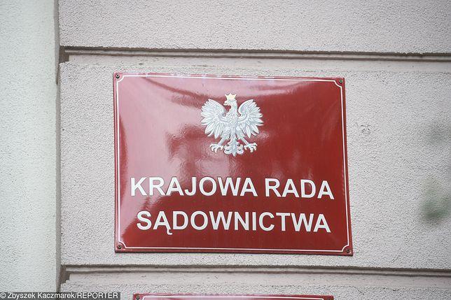 Budynek Krajowej Rady Sądownictwa w Warszawie.