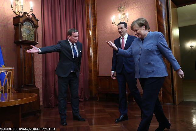 """Merkel w Warszawie. """"Jak gdyby nigdy nic"""""""