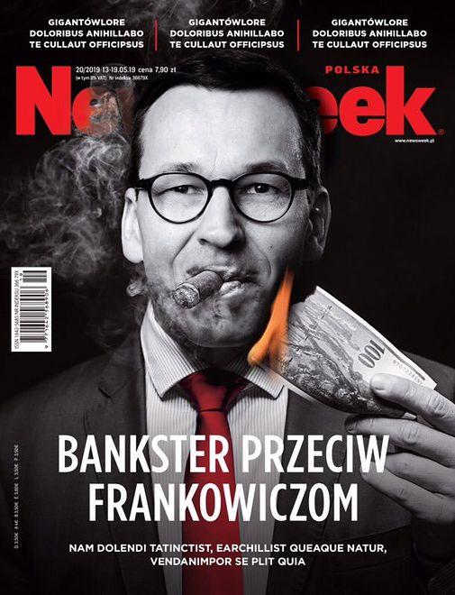 """Najnowsza okładka """"Newsweeka"""""""