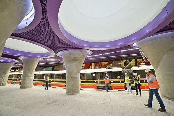 Prezes metra: centralny odcinek II linii gotowy w 97 proc.