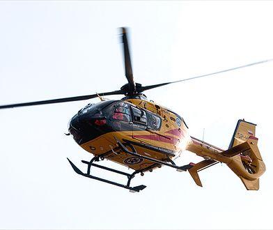 13 osób rannych w wypadku autobusu w Otłówku; zablokowana dk 55
