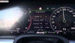 Volkswagen Touareg 3.0 V6 TDI 286 KM (AT) - pomiar zużycia paliwa