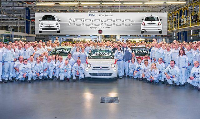 1,5 mln Fiatów 500 z tyskiej fabryki