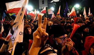 Zarzut dla manifestującego przed Sejmem