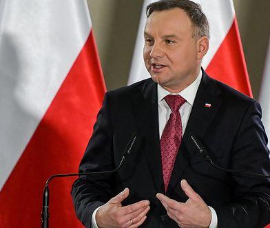 Żart z Andrzeja Dudy. Tłumaczył, że Polska nie zamierza odbierać Ukrainie Lwowa