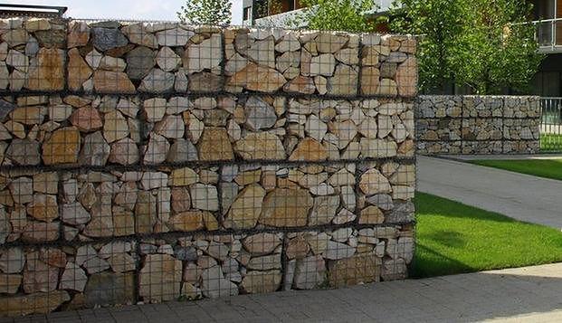 Ogrodzenie z gabionów