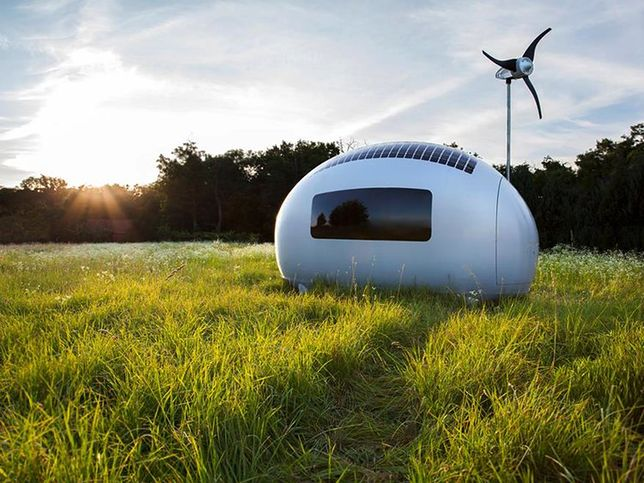Futurystyczne domy alternatywą dla kawalerek