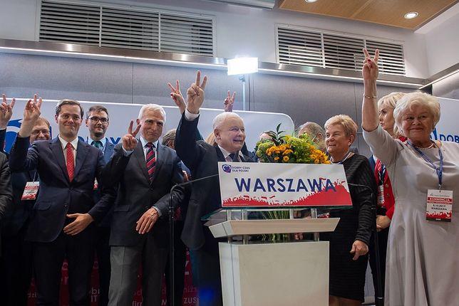 Wybory parlamentarne 2019. Tak Małgorzata Kidawa-Błońska i Jarosław Kaczyński walczą o Warszawę