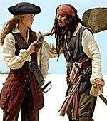 Przymiarki nowego korsarza z 'Piratów z Karaibów III'