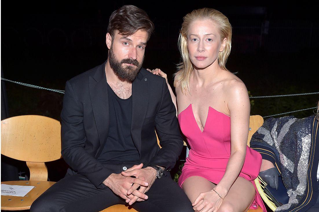 Piotr Stramowski i Katarzyna Warnke od wielu lat są parą (AKPA)