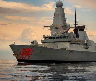 Krym. Incydent na Morzu Czarnym. Londyn zaprzecza rosyjskiej wersji