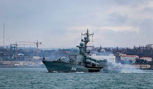 Rosja pręży muskuły. Flota Czarnomorska ruszyła na morze
