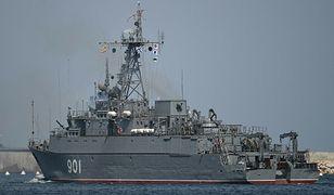 Kolejne rosyjskie okręty desantowe wpłynęły na Morze Czarne