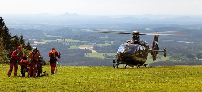 Akcja ratunkowa w Czechach