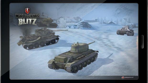 World of Tanks Blitz wjedzie na platformy mobilne w czerwcu