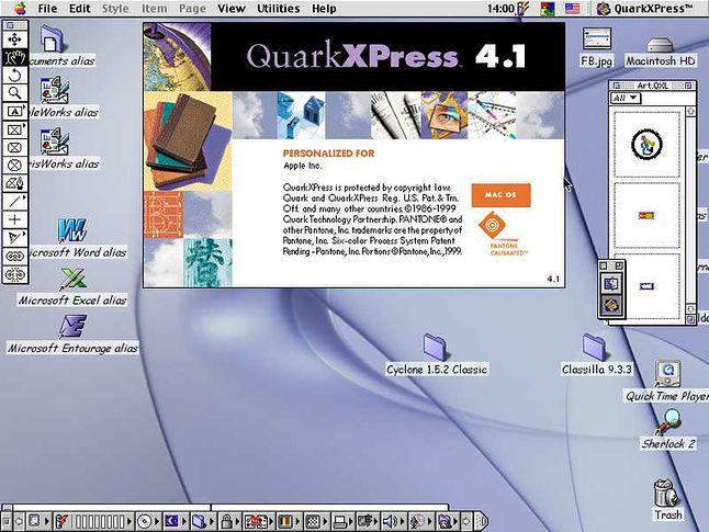 QuarkXPress, król DTP na końcu ubiegłego i początku bieżącego wieku.