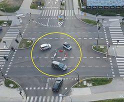 """Niby-rondo na skrzyżowaniu. """"Takie cuda tylko w Kielcach!"""""""