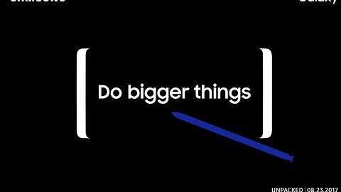 Samsung Galaxy Note 8: oficjalna data premiery ujawniona