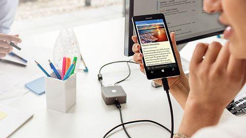 Continuum w Windows 10 Mobile – telefon, któremu daleko do komputera