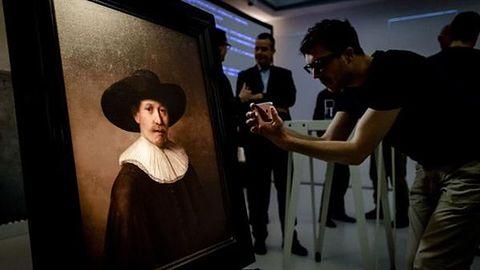 """Rembrandt został """"wskrzeszony"""" dzięki analizie danych i drukarce 3D"""