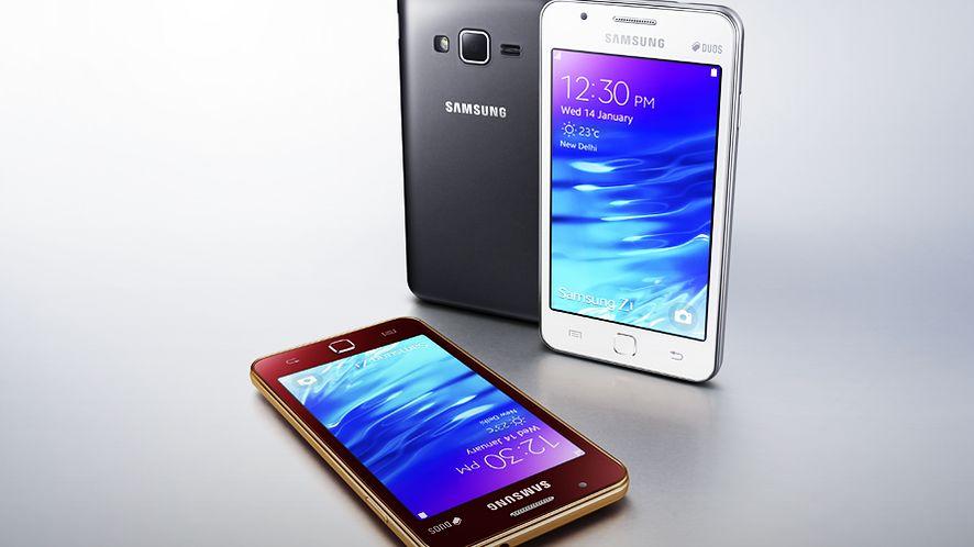 Samsung Z1: smartfon z Tizen OS wreszcie w sprzedaży – choć nie u nas