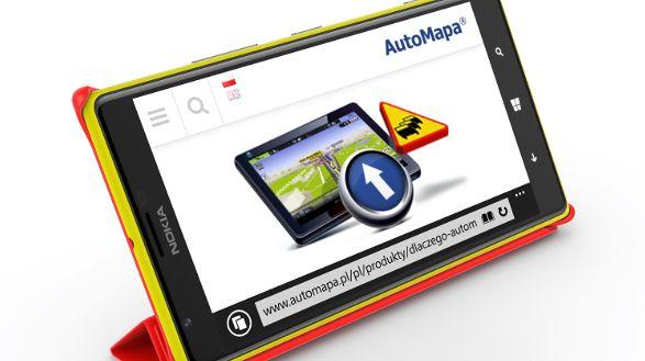 AutoMapa coraz bliżej Windows Phone. Ruszyły zapisy do testów bety