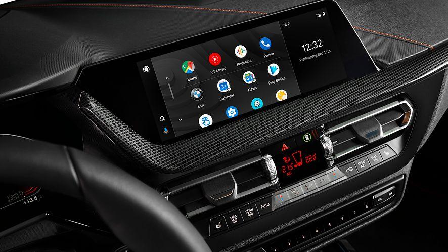 Android Auto trafi do samochodów BMW, fot. BMW.