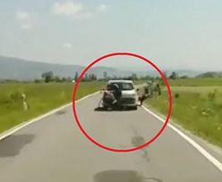 Są konsekwencje dla kierowcy renault. Nagranie z gór obiegło Polskę