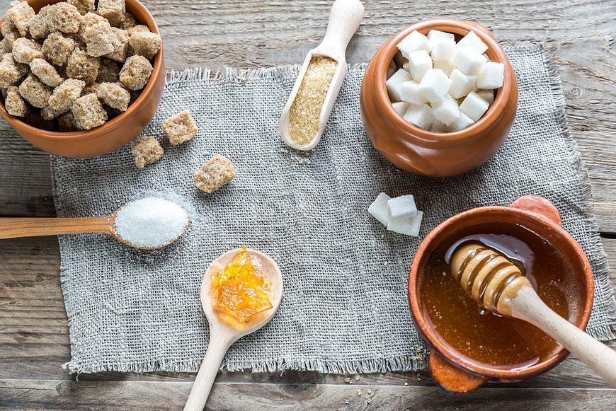 nne rodzaje dodatkowego cukru