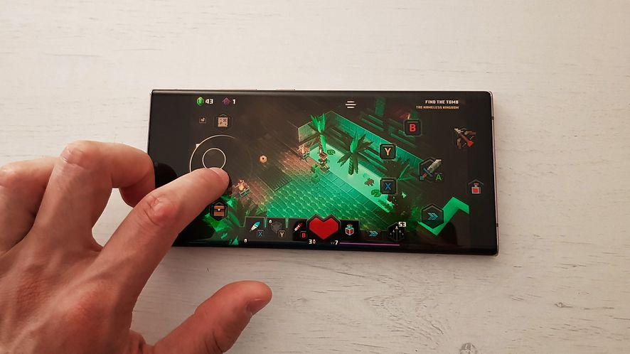 Minecraft Dungeons był pierwszą grą na xCloud niewymagającą kontrolera