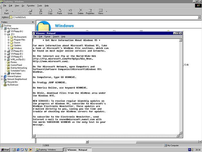 Odwiedź naszą stronę w Internecie, AOLu, Compuserve, Prodigy....
