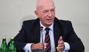 Zbigniew Ćwiąkalski odpowiada na pytania sejmowej komisji śledczej do spraw VAT.