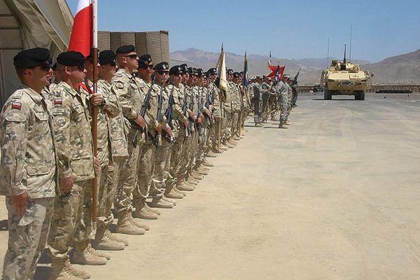 Polscy żołnierze w Ghazni