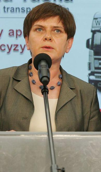 Beata Szydło 2008