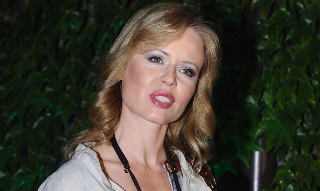Magdalena Wójcik pojawiła się na premierze spektaklu