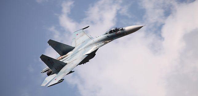 Rosyjski samolot wleciał na ok. 1,6 km w przestrzeń powietrzną Izraela