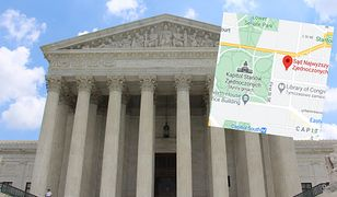 USA. Alarm bombowy w Sądzie Najwyższym