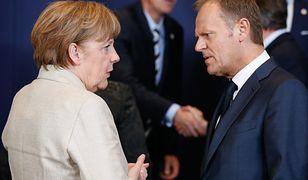 """Merkel zastąpi Tuska? """"Tylko ona może rozmawiać jak równy z równym z Trumpem"""""""