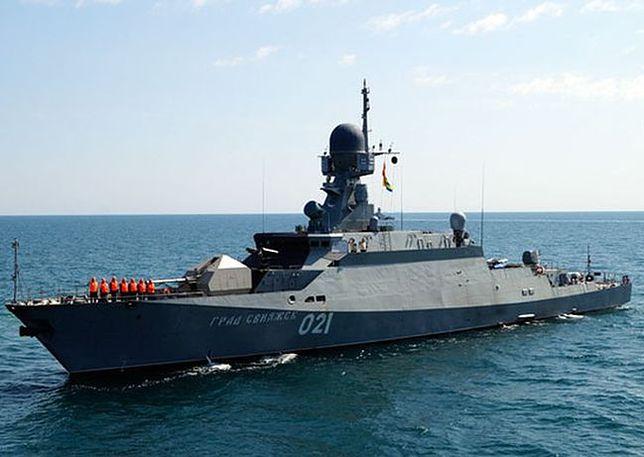 Rosjanie urządzili manewry na Bałtyku. Zbiegły się z wizytą Trumpa