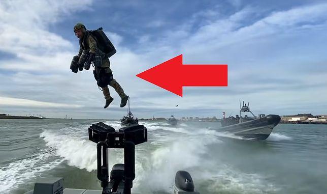 Holenderskie Morskie Siły Operacyjne w czasie testów nowych kombinezonów