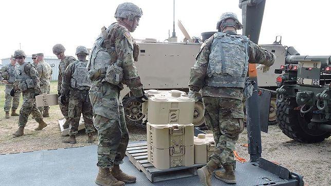 Specjalne miny wystrzelą pocisk w kierunku czołgu