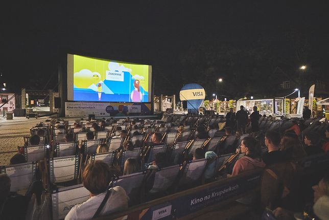 Visa Kino Letnie - ponad 100 tysięcy widzów!