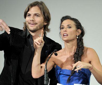 """Ashton Kutcher nadal kocha córki Demi Moore: """"Pomagałem przy ich wychowywaniu"""""""