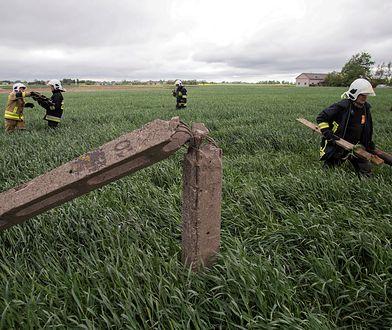 Trąba powietrzna uderzyła w gminę Wojciechów