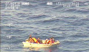 Nie wiadomo jeszcze, czy uratowani to członkowie załogi czy pasażerowie promu