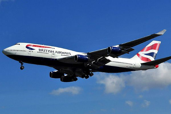 Boeing 747-436 linii British Airways