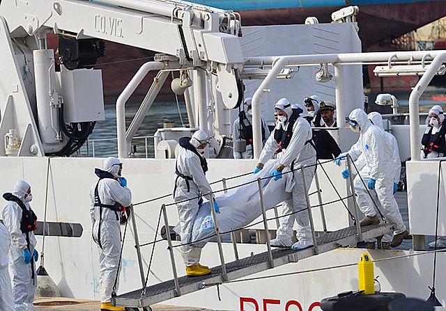 Kolejna tragedia na Morzu Śródziemnym - zdjęcia