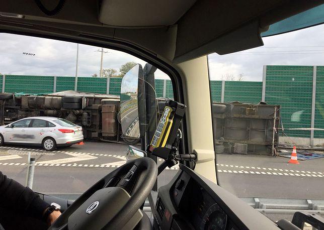 Kierowca przeciążonego tira został ukarany mandatem