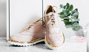 Półbuty to modna alternatywa dla męczących stopy szpilek